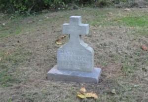 Mary DiFranco gravestone in Riverview Cemetery