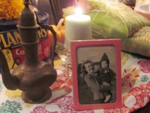 Photo of Day of the Dead Altar, Marge & Keith Knowles